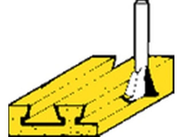 Frez do płetw/wczep. HM 14,3x13,5 15° Metabo