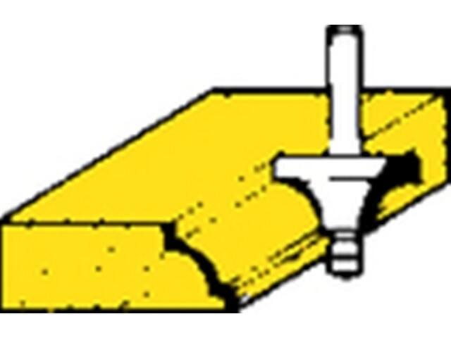 Frez do ćwierćwałków HM 25,4x13,5x6,35 Metabo