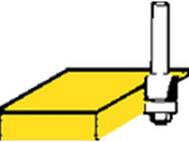 Frez do krawędzi HM 12,7x25,4 Metabo