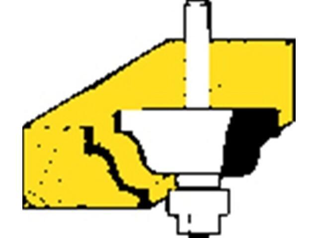 Frez do profili HM 38,1x18x6,35 Metabo