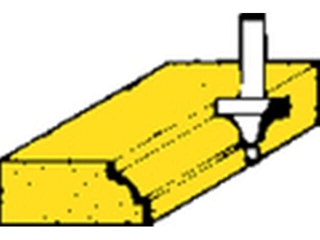Frez do ćwierćwałków HSS27,8x16x9,5 Metabo