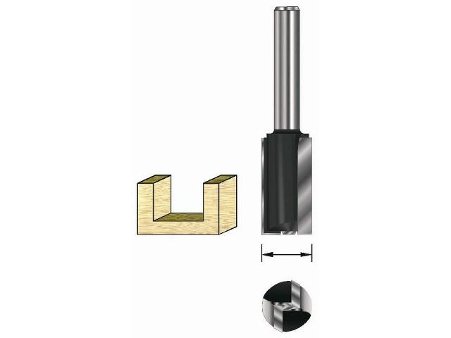 Frez rowkowy długi 8mm DR1020 DeWALT