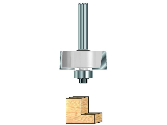 Frez rowkowy z łożyskiem 8mm DR4401 DeWALT