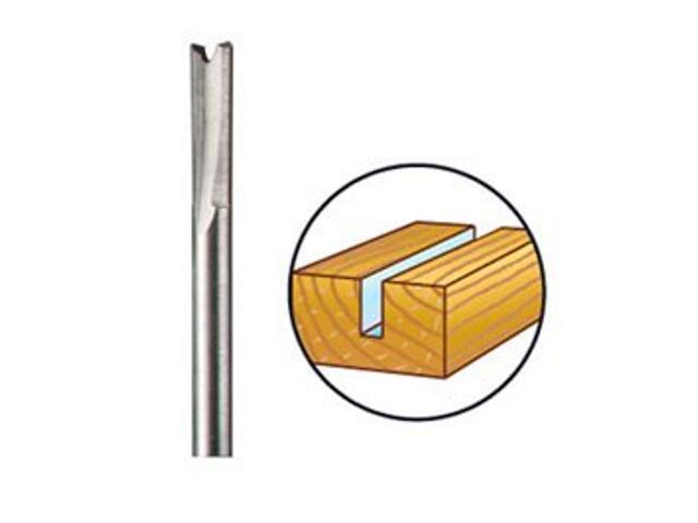 Frez profilowy prosty do drewna 3,2mm /hss/ Dremel