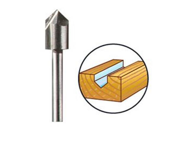 Frez profilowy żłobk. do drewna 6,4mm /hss/ Dremel