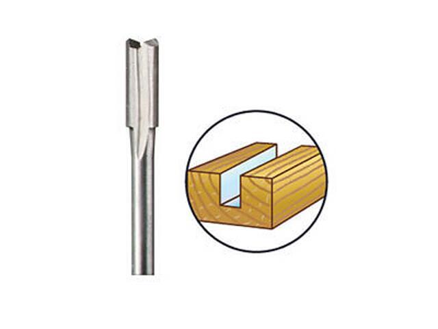 Frez profilowy prosty do drewna 4,8mm /hss/ Dremel