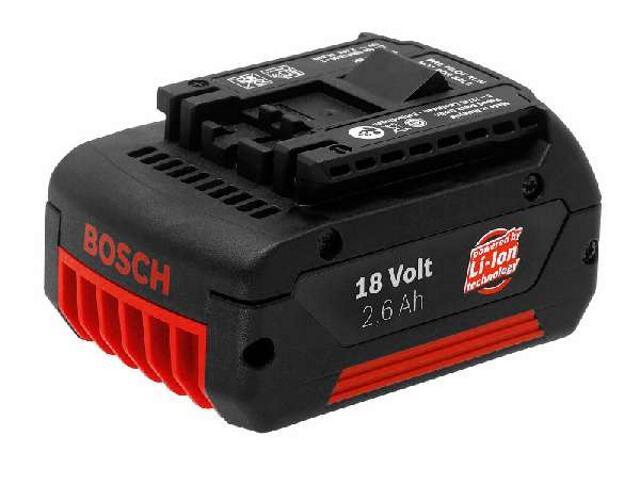 Akumulator 18V 2,6Ah, Li-Ion Bosch