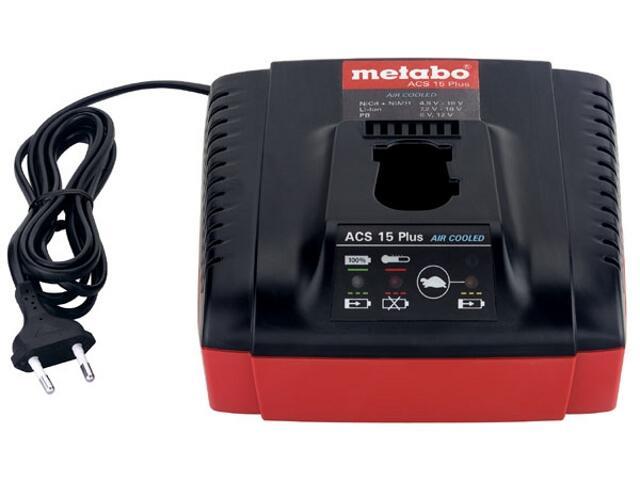 Ładowarka Air Cooled ACS 15 Plus Metabo