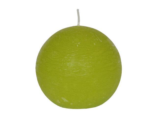 Świeca kula polarowa 86mm kolor majowa zieleń Muller