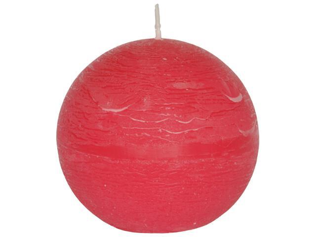 Świeca kula polarowa 136mm kolor malinka Muller