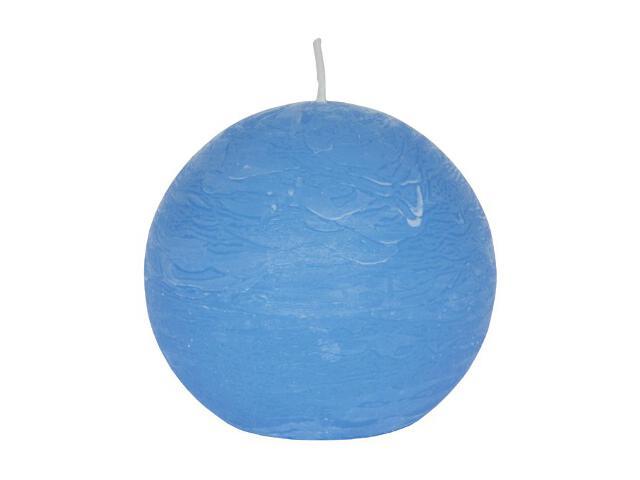 Świeca kula polarowa 136mm kolor niebieski Muller