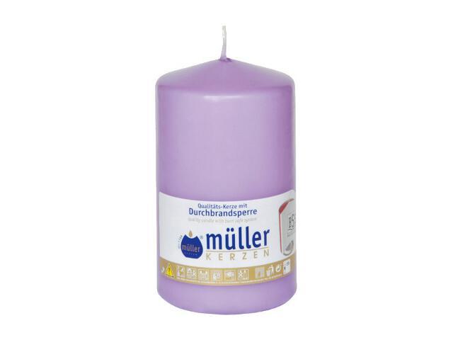 Świeca walec 130x75mm kolor bzu Muller