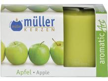 Świeca zapachowa walec kpl 2szt jabłko Muller
