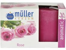 Świeca zapachowa walec kpl 2szt róża Muller