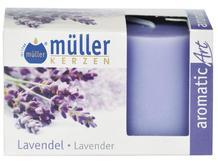 Świeca zapachowa walec kpl 2szt lawenda Muller