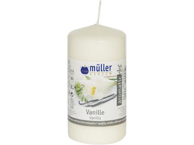 Świeca zapachowa walec 110x55mm wanilia Muller