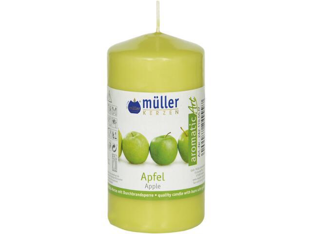 Świeca zapachowa walec 110x55mm jabłko Muller