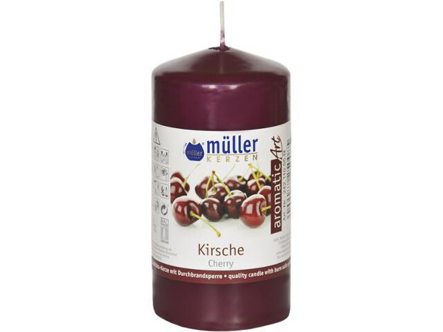 Świeca zapachowa walec 110x55mm czereśnia Muller