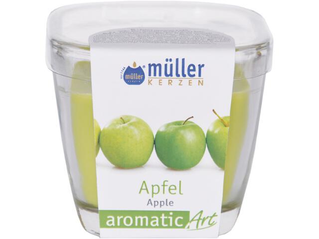 Świeca zapachowa w szkle jabłko Muller