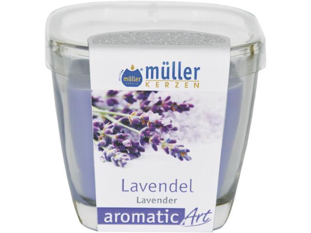 Świeca zapachowa w szkle lawenda Muller