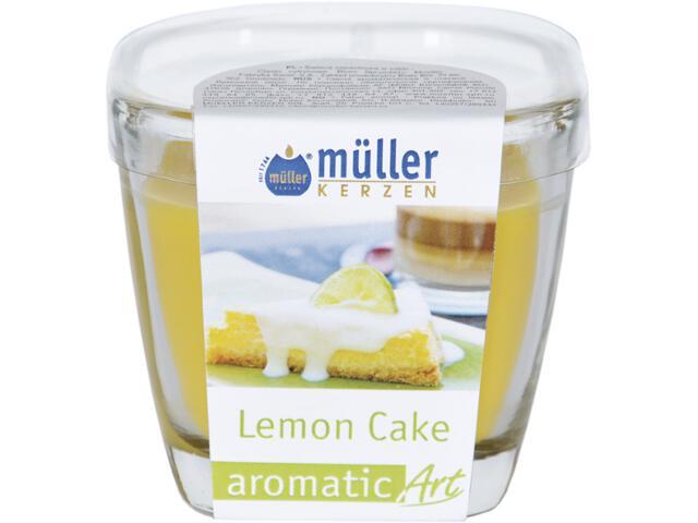 Świeca zapachowa w szkle ciasto lemonowe Muller