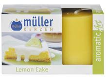 Świeca zapachowa walec kpl 2szt ciasto lemonowe Muller