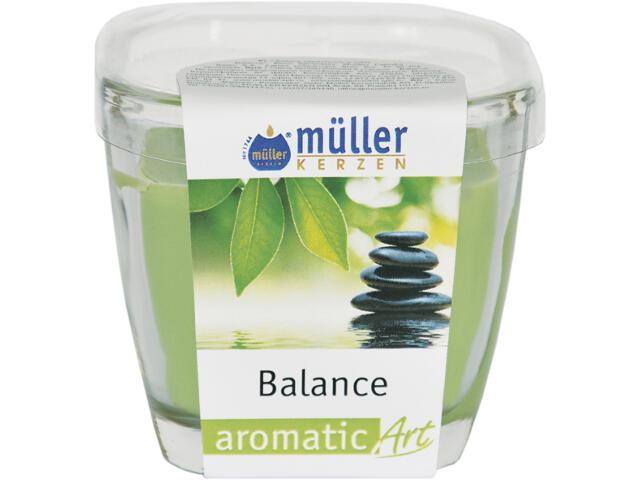 Świeca zapachowa w szkle balans Muller