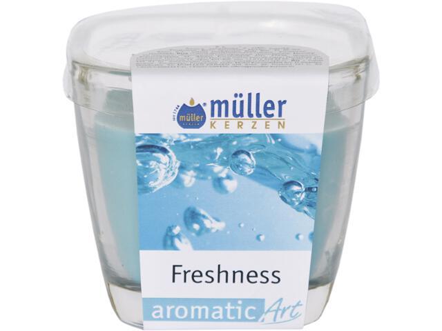 Świeca zapachowa w szkle świeżość Muller