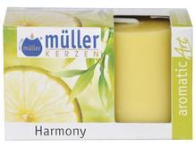 Świeca zapachowa walec kpl 2szt harmonia Muller