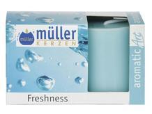 Świeca zapachowa walec kpl 2szt świeżość Muller