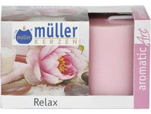 Świeca zapachowa walec kpl 2szt relaks Muller