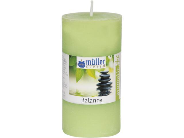 Świeca zapachowa walec polarowy 100x50mm balans Muller