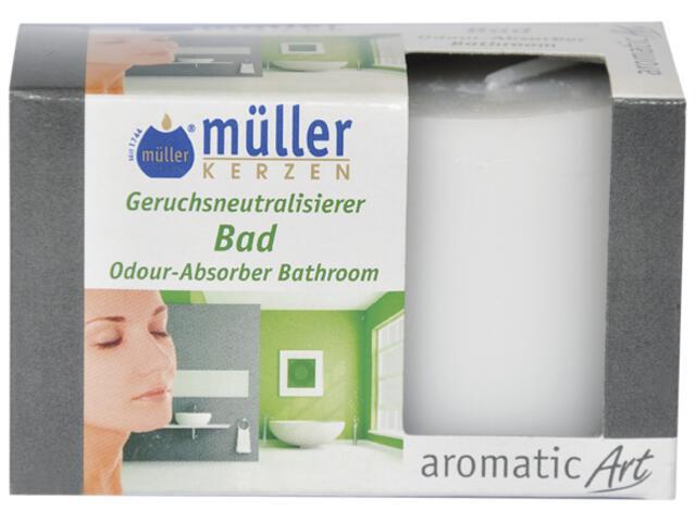 Świeca walec neutralizująca zapach kpl 2szt łazienka Muller