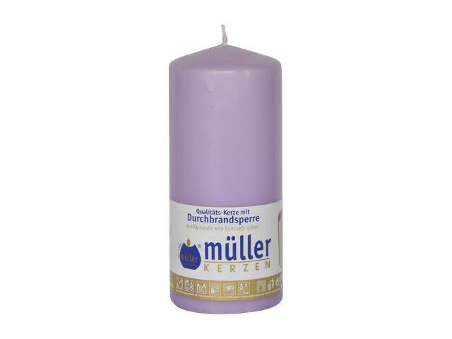 Świeca walec 130x55mm kolor bzu Muller
