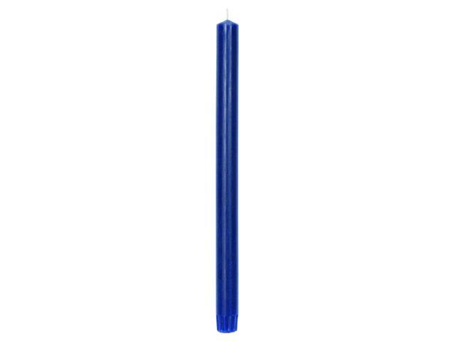Świeca świecznikowa 300mm kolor indigo Muller