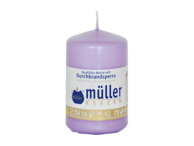 Świeca walec 90x55mm kolor bzu Muller