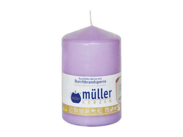 Świeca walec 110x70mm kolor bzu Muller