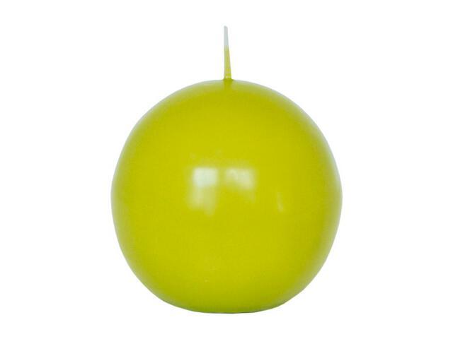 Świeca kula 75mm kolor majowa zieleń Muller