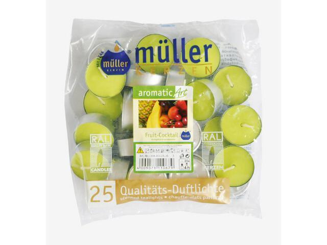 Podgrzewacze zapachowe 25szt owocowy koktail Muller