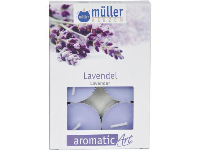 Podgrzewacze zapachowe 6szt lawenda Muller