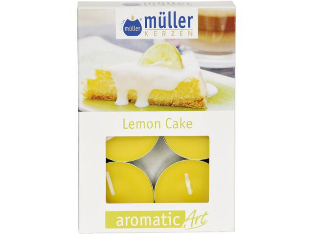 Podgrzewacze zapachowe 6szt ciasto lemonowe Muller