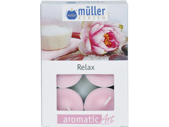 Podgrzewacze zapachowe 6szt relaks Muller