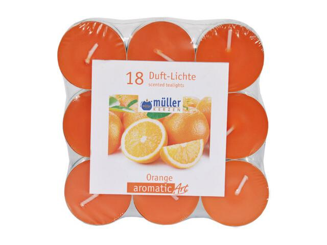 Podgrzewacze zapachowe Flat Pack 18szt pomarańcza Muller