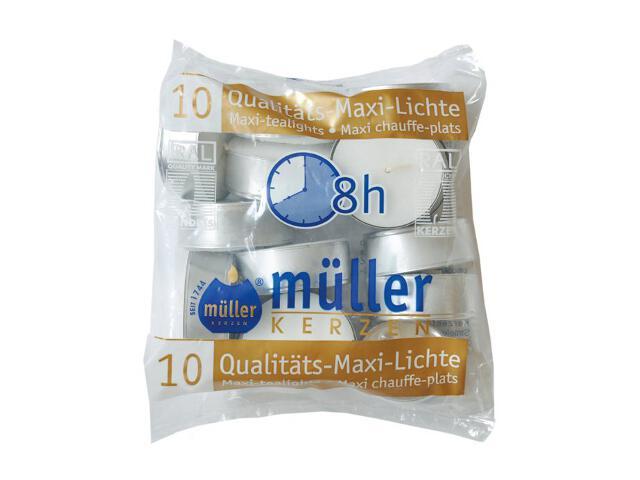 Podgrzewacze maxi 10szt Muller