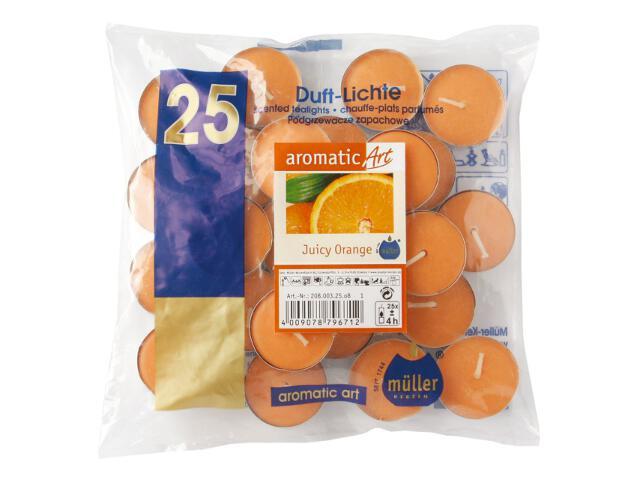 Podgrzewacze zapachowe 25szt sok pomarańczowy Muller