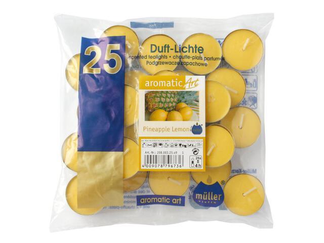 Podgrzewacze zapachowe 25szt cytryna ananas Muller