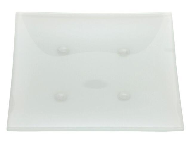 Podstawka pod świecę 110x100mm matowa biała Muller
