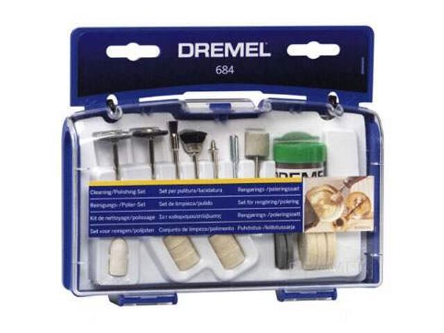 Zestaw do czyszczenia i polerowania Dremel