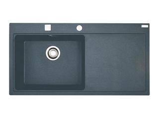 Zlewozmywak Mythos MTG 611 1000x515mm grafitowy komora z lewej 114.0067.386 Franke