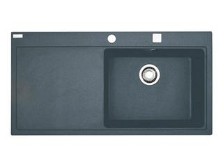 Zlewozmywak Mythos MTG 611 1000x515mm grafitowy komora z prawej 114.0067.387 Franke